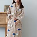 ieftine Bath Robes-Calitate superioară Halat de Baie, Mată 100% Poliester Baie