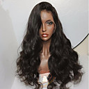 cheap Human Hair Wigs-Human Hair Glueless Lace Front / Lace Front Wig Brazilian Hair Body Wave Wig 130% With Baby Hair / Natural Hairline / Unprocessed Short / Medium Length / Long Human Hair Lace Wig