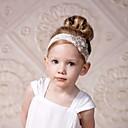 זול ילדים אביזרים לשיער-מידה אחת לבן אביזרי שיער כותנה בנות ילדים / רצועות ראש