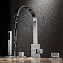 billige Badekraner-Badekarskran - Moderne Krom Badekar Og Dusj Messing Ventil