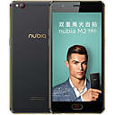 "cheap Headsets & Headphones-NUBIA M2 Lite 5.5 inch "" 4G Smartphone (3GB + 64GB 13 mp MediaTek MT6750 3000 mAh mAh) / 1280x720"