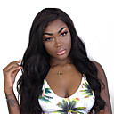 cheap Human Hair Wigs-Human Hair Lace Front Wig Indian Hair Body Wave / Kinky Curly Wig 250% Natural Hairline Women's Medium Length / Long Human Hair Lace Wig
