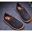 olcso Fiú cipők-Fiú Cipő Nubuk bőr / Bőr Tavasz / Ősz Kényelmes Félcipők mert Fekete / Kék / Teveszín