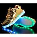preiswerte Jungenschuhe-Jungen Schuhe Lackleder Frühling / Herbst Komfort Sneakers für Gold / Silber / Rosa