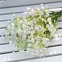 ieftine Flor Artificiales-Flori artificiale 2 ramură Pastoral Stil Respirație Copil Față de masă flori