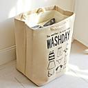 Χαμηλού Κόστους Ρούχα για Πλύσιμο-Βαμβάκι Ορθογώνιο Πολυλειτουργία Σπίτι Οργανισμός, 1pc Θήκη & Καλάθι Απλύτων