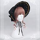 זול תחפושות מבוגרים-Lolita Bonnet לוליטה מתוקה לבוש ראש שחור לוליטה אביזרים לבוש ראש פולי / כותנה