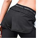 זול רמקולים-בגדי ריקוד נשים מכנסי ריצה - שחור, נייבי כהה ספורט אחיד מכנסיים / חותלות לבוש אקטיבי ייבוש מהיר, נשימה, דק מאוד סטרצ'י (נמתח)