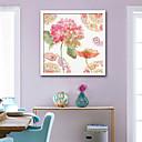 preiswerte Gerahmte Kunst-Botanisch Blumenmuster/Botanisch Darstellung Wandkunst,PVC Stoff Mit Feld For Haus Dekoration Rand Kunst Wohnzimmer Schlafzimmer Küche