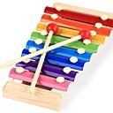 זול כלי צעצוע-Xylophone צעצועי כלי מנגינה מלבני כיף יוניסקס