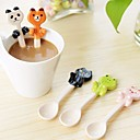 cheap Bakeware-Cartoon Animal Ceramic Hanging Spoons Assorted Color