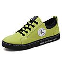 זול נעלי בד ומוקסינים לגברים-בגדי ריקוד גברים נעלי נהיגה קנבס אביב / קיץ נוחות נעלי ספורט שחור / אפור / ירוק