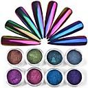 olcso Nail Glitter-1db Csillogás köröm művészet manikűr Pedikűr Klasszikus Napi