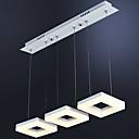 abordables Lámparas Colgantes-3-luz Racimo Lámparas Colgantes Luz Ambiente - Mini Estilo, LED, 110-120V / 220-240V, Blanco Cálido / Blanco, Fuente de luz LED incluida