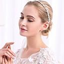 זול הד פיס למסיבות-סגסוגת רצועות with קריסטלים / אבנים נוצצות 1pc חתונה אירוע מיוחד כיסוי ראש