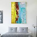 voordelige Muurstickers-Stilleven Olieverfschilderij Muurkunst,Hout Materiaal Met frame For Huisdecoratie Ingelijste kunst Woonkamer