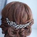 זול הד פיס למסיבות-סגסוגת רצועות עם קריסטל 1pc חתונה / אירוע מיוחד כיסוי ראש