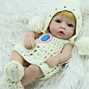 cheap Science & Exploration Sets-NPK DOLL Reborn Doll Baby 12 inch Full Body Silicone / Silicone / Vinyl - lifelike, Hand Applied Eyelashes, Tipped and Sealed Nails Kid's Unisex Gift / CE Certified / Natural Skin Tone / Floppy Head