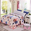 preiswerte Moderne Bettbezüge-Superweich, Bedruckt Blumen Polyester Decken