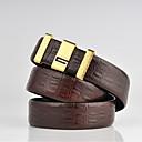 abordables Accesorios para Hombre-Hombre Piel Legierung Cinturón de Cintura - Trabajo Un Color