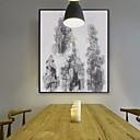 voordelige Muurstickers-Romantiek Illustratie Muurkunst,Aluminium Materiaal Met frame For Huisdecoratie Ingelijste kunst Voor Binnen