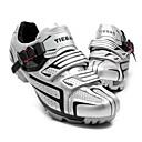 abordables Zapatos de Ciclismo-Tiebao® Calzado para Mountain Bike Nylón Impermeable, A prueba de resbalones, Amortización Ciclismo Negro / Plata / Verde Hombre