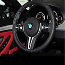 זול ג'קטים לאופנועים-כיסויים להגה עור אמיתי שחור For BMW X3 / X5 / סדרה 3 כל השנים