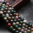 cheap Doll Houses-DIY Jewelry 48 pcs Beads Agate Rainbow Round U Shape Bead 0.8 cm DIY Necklace Bracelet