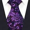 זול שרשראות לגברים-גברים של המפלגה עבודה rayon עניבה - פרח בלוק צבע אקארד
