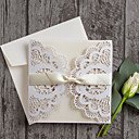 cheap Wedding Invitations-Gate-Fold Wedding Invitations 30pcs - Invitation Cards Invitation Sample Mother's Day Cards Baby Shower Cards Bridal Shower Cards