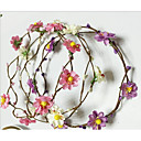 cheap Hair Jewelry-Plastic with Petal 2pcs Wedding / Party / Evening Headpiece