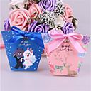 זול קופסאות למתנות ומזכרות-Other נייר כרטיסים מחזיק לטובת עם רצועות קופסאות קישוט - 25pcs