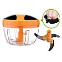 זול מדבקות קיר-כלי מטבח פלדת אל חלד + ABS דרגה A Multi-function מגרשי קרח & גילוח 1pc