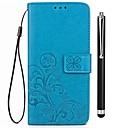 זול מגנים לטלפון & מגני מסך-מגן עבור Vivo X20 Plus X20 מחזיק כרטיסים ארנק עם מעמד נפתח-נסגר כיסוי מלא צבע אחיד קשיח עור PU ל vivo X20 Plus vivo X20 Vivo X9 Plus Vivo