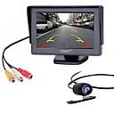 זול מצלמת מראה אחורי לרכב-ZIQIAO LED ערכת תצוגה אחורית לרכב ראיית לילה ל מכונית לד