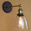 זול תאורה מודרנית-סגנון קטן רטרו\וינטאג' / קאנטרי / מסורתי / קלסי מנורות קיר משרד מתכת אור קיר 110-120V / 220-240V 40W