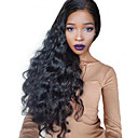 cheap Hair Braids-Remy Human Hair 360 Frontal Wig Brazilian Hair Wavy / 360 Frontal Wig With Baby Hair 150% / 180% Natural Hairline / 100% Virgin / Unprocessed 31cm(Approx12inch) / 36cm(Approx14inch