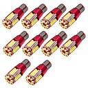זול מערכות דלק-10pcs נורות תאורה 10W SMD 3014 57 תאורת איתות For אוניברסלי גנרל מוטורס כל השנים