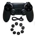זול חפצים דקורטיביים-בקר משחק עבור PS4 ,  ידית משחק בקר משחק סיליקון / ABS 1 pcs יחידה