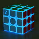 halpa Koiran lelut-Magic Cube IQ Cube z-cube Valoisa hehku-kuutio 3*3*3 Tasainen nopeus Cube Rubikin kuutio Puzzle Cube Stressiä ja ahdistusta Relief Office Desk Lelut Itsestään valaiseva pimeässä Pimeässä hohtava