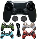 cheap Smartwatch Accessories-Game Controller Case Protector / Game Controller For PS4 ,  Gaming Handle Game Controller Case Protector / Game Controller Silicone / ABS 1 pcs unit