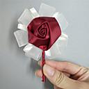 """hesapli Düğün Çiçekleri-Düğün Çiçekleri Boutonnieres Düğün Davet/Parti Saten 4.33""""(Yaklaşık11cm)"""