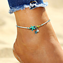 cheap Anklet-Anklet - Imitation Pearl Starfish, Shell Bohemian, Fashion, Boho White For Holiday / Bikini / Women's