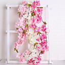 cheap Jewelry Sets-Artificial Flowers 1 Branch Wedding / European Sakura Wall Flower