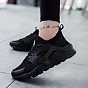tanie Adidasy męskie-Męskie Komfortowe buty Tiul Wiosna / Lato Adidasy Czarny / Różowy / Czarny biały