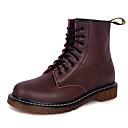 tanie Adidasy męskie-Męskie Fashion Boots Skóra nappa / PU Wiosna / Lato Botki Spacery Kozaczki / kozaki do kostki Czarny / brązowy
