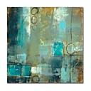 povoljno Ulja na platnu-Hang oslikana uljanim bojama Ručno oslikana - Sažetak Comtemporary Moderna Platno