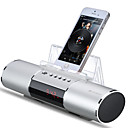 cheap People Paintings-E19 Bluetooth Bluetooth 2.1 3.5mm AUX Bookshelf Speaker Silver Red Blue