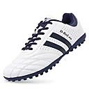 זול נעלי ספורט לגברים-בגדי ריקוד גברים אור סוליות עור PVC אביב / סתיו נעלי אתלטיקה כדורגל לבן / צהוב / אדום