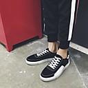 זול סניקרס לגברים-בגדי ריקוד גברים PU אביב / סתיו נוחות נעלי ספורט שחור / אפור / אדום